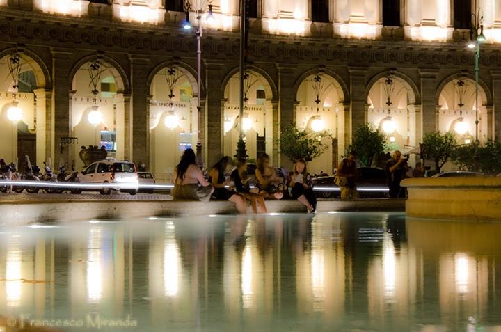 Dolce Vita.. in Piazza della Repubblica - Shot by Francesco Miranda