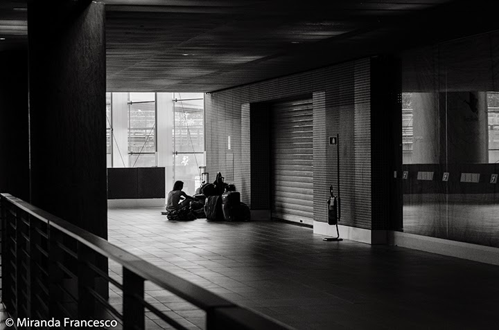 Inside Tiburtina Station - Shot by Francesco Miranda