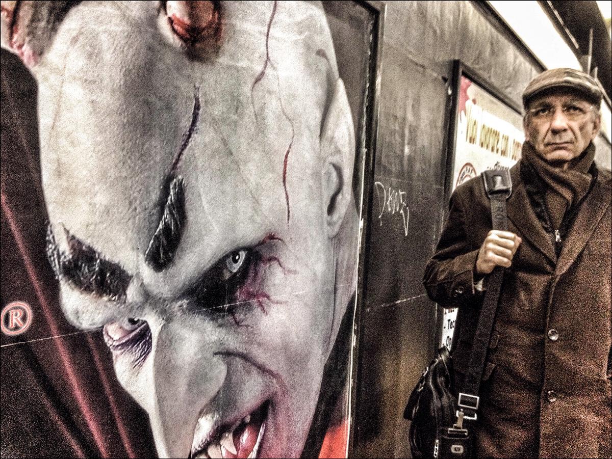 Incontri sotteranei nella Metro B di Roma