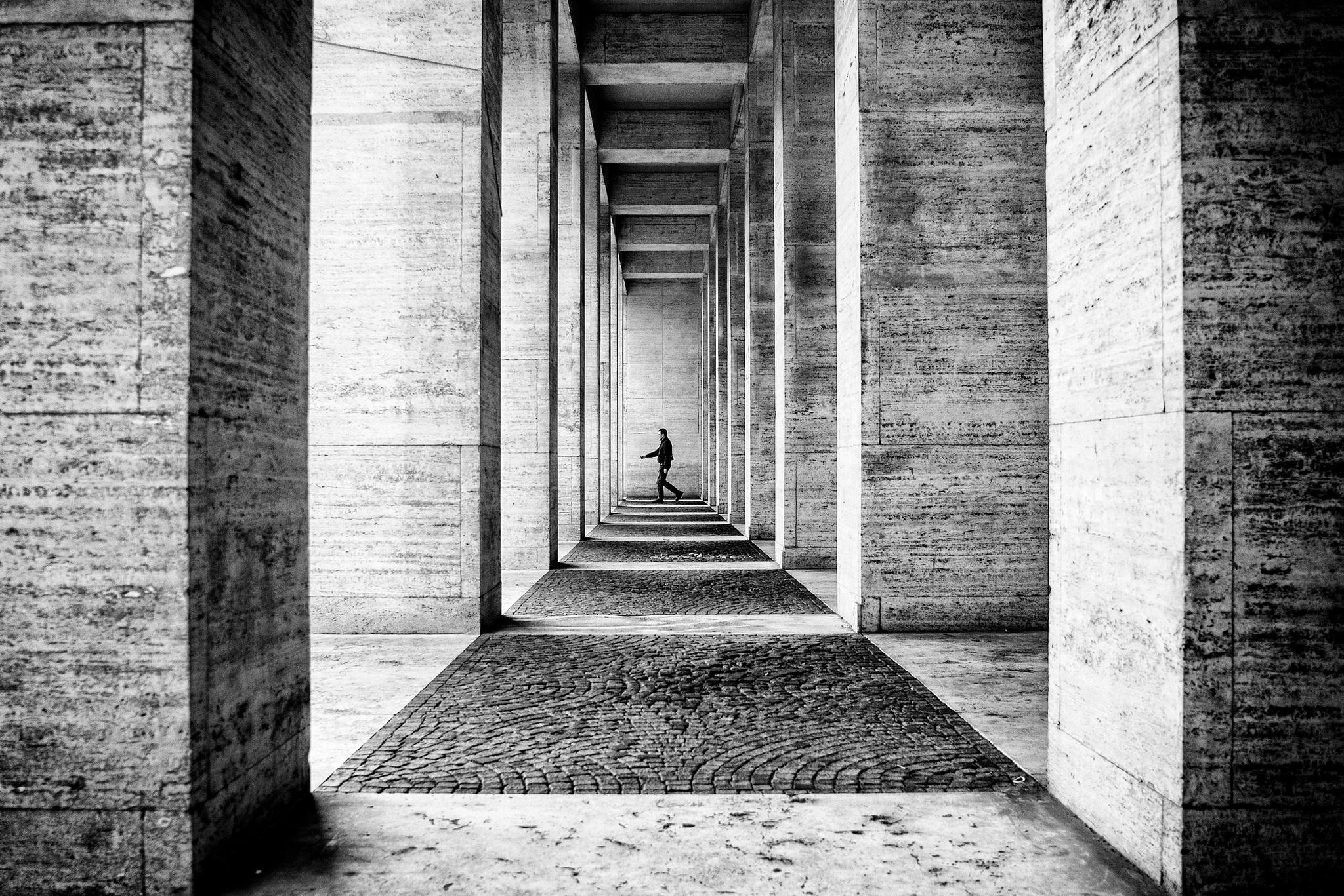 foto di roma in bianco e nero