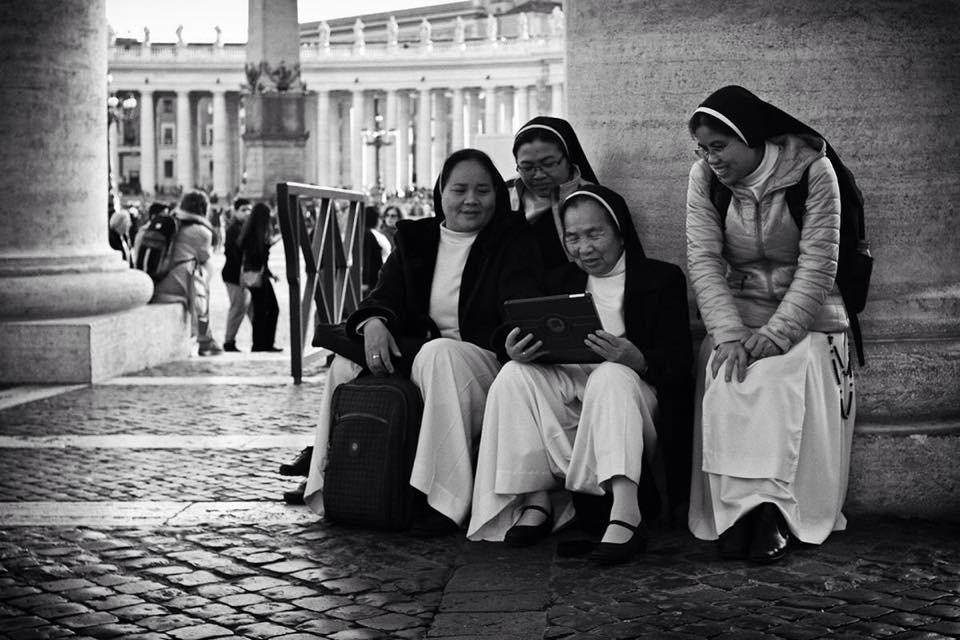 san pietro roma piazza foto