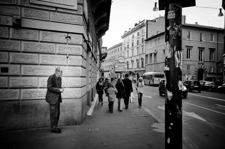 Via del corso foto roma by Marco Orecchini