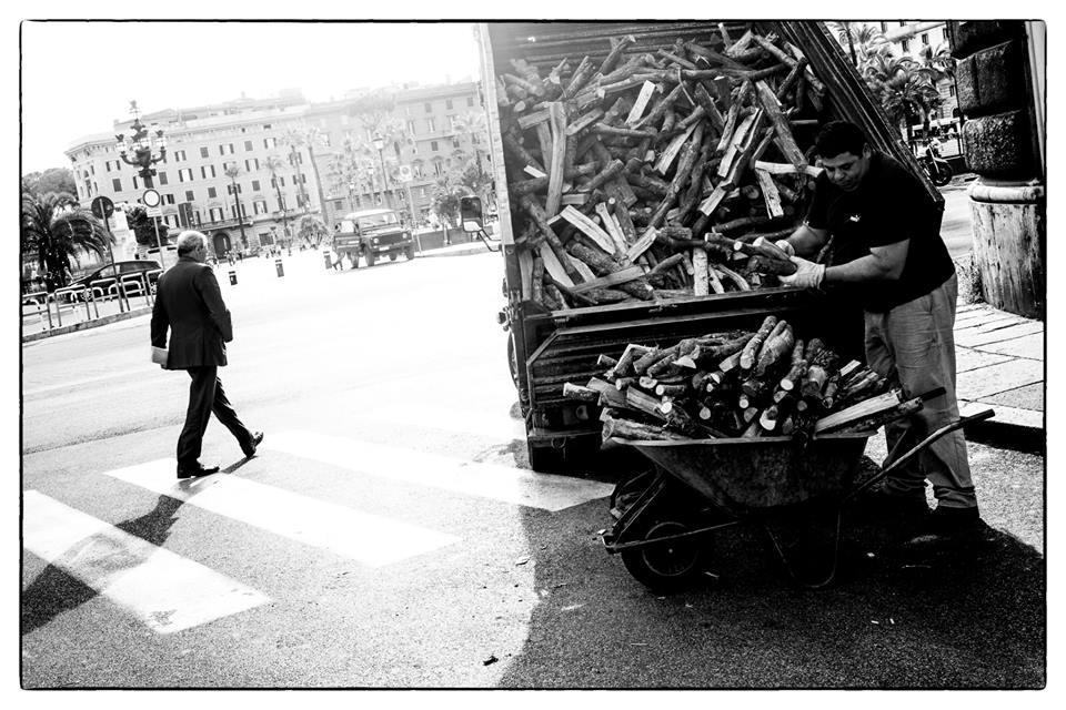 foto roma bianco e nero street photography roma