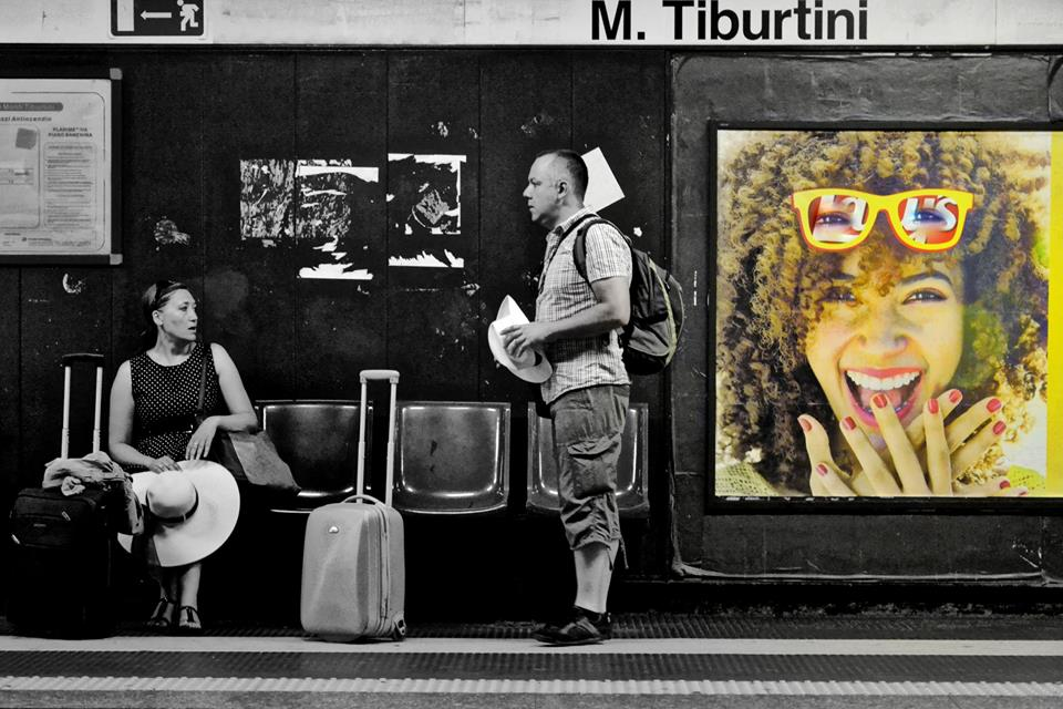 foto metro Roma underground
