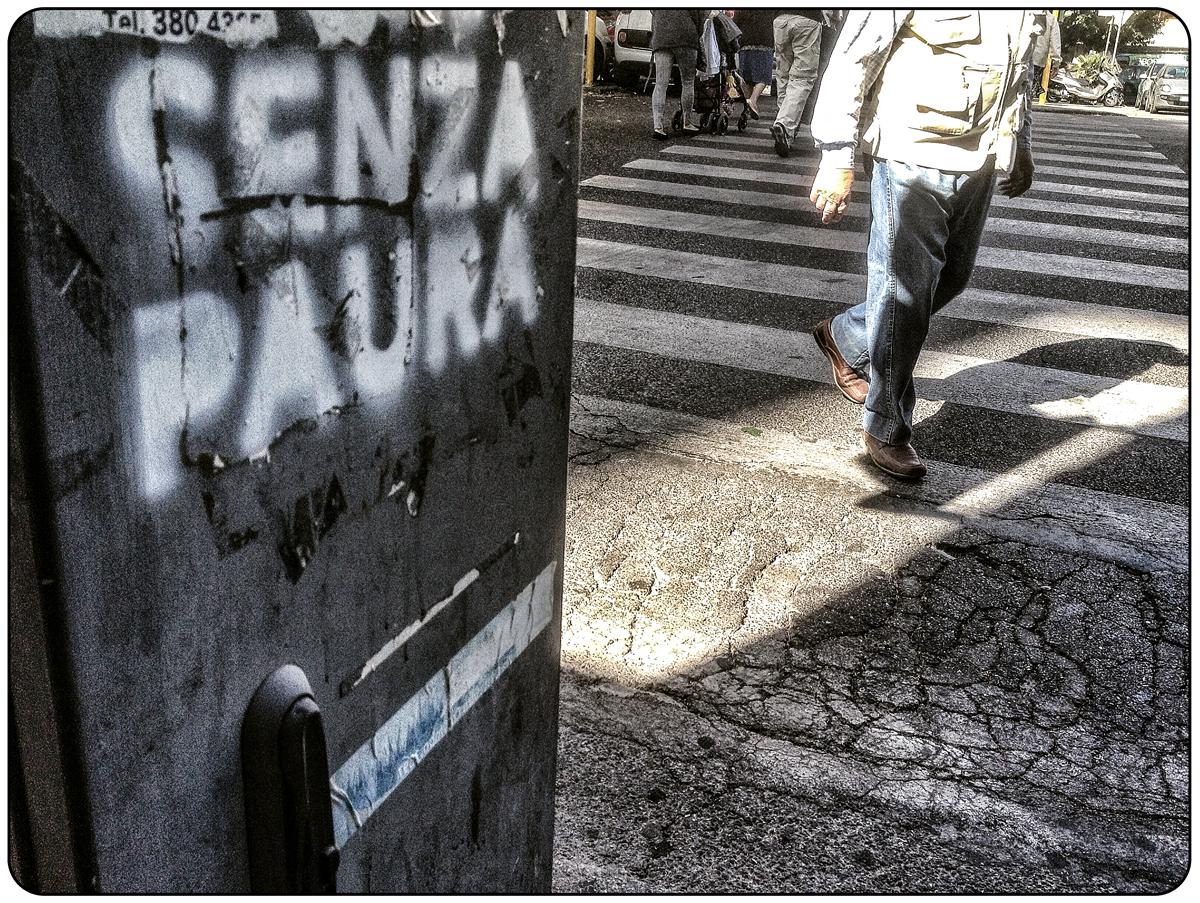 foto scattata a viale marconi (Roma) durante una calda domenica di inizio giugno