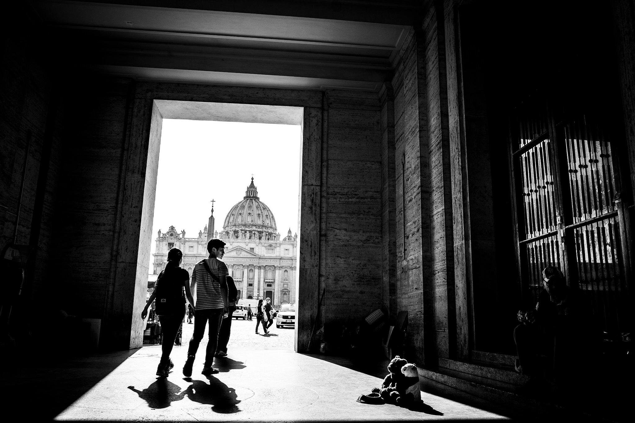 Foto Rione Borgo - Via della Conciliazione, Roma