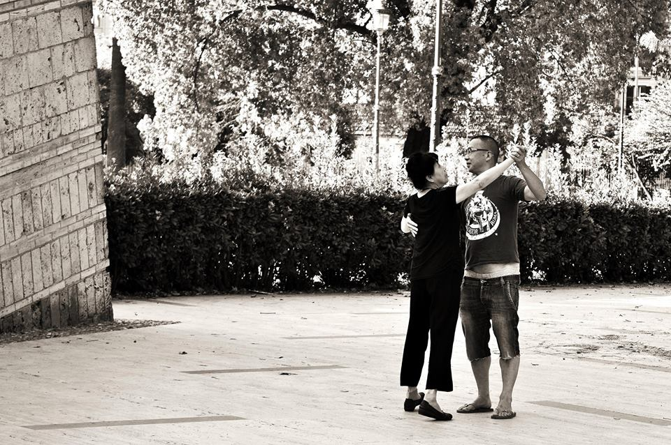 """""""Tango Romano"""" - Piazza Vittorio © Rossella Santoro"""