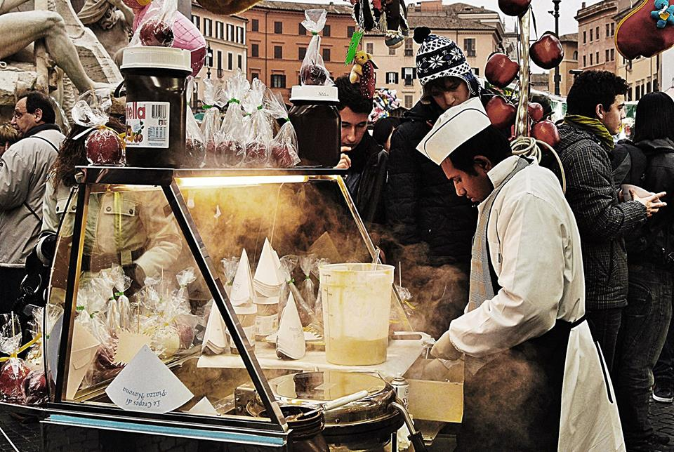 Le Crepes Piazza Navona - © Rossella Santoro