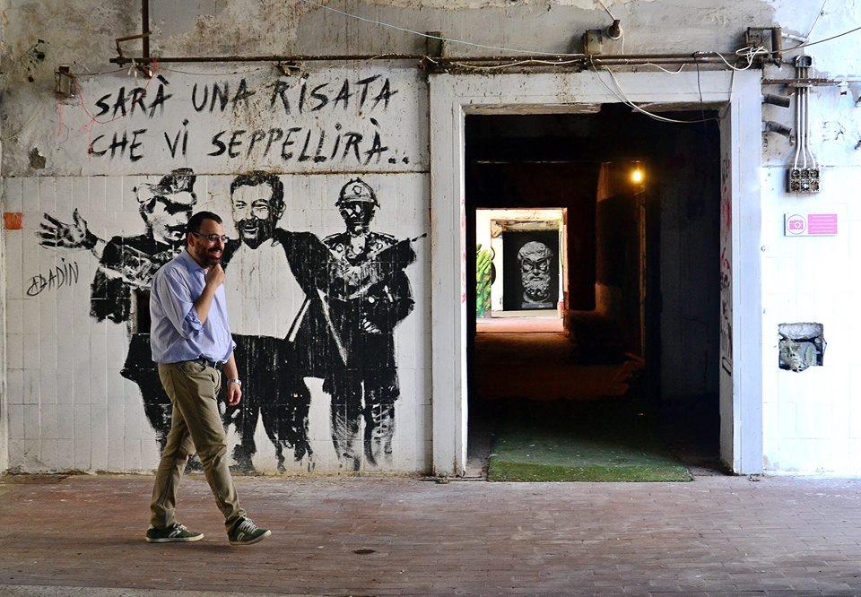 (MAAM) Sarà una risata che vi seppellirà - © Silvia Brutti su Roma Street Photography