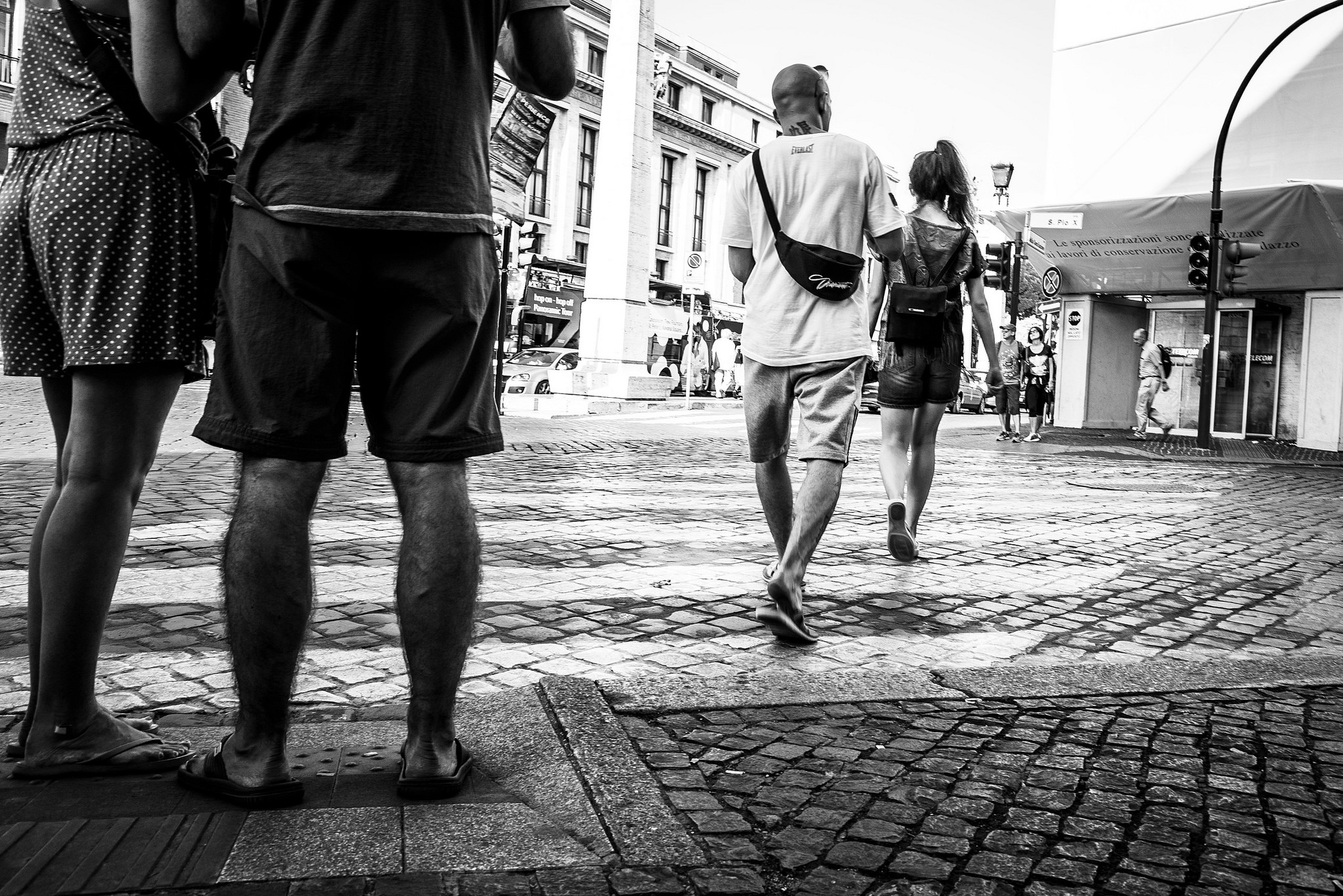Roma Street Photography - Stop or Go - © Maurizio Scacchi