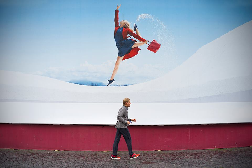 ad ognuno il suo - Street photography di Paolo Penna a Roma