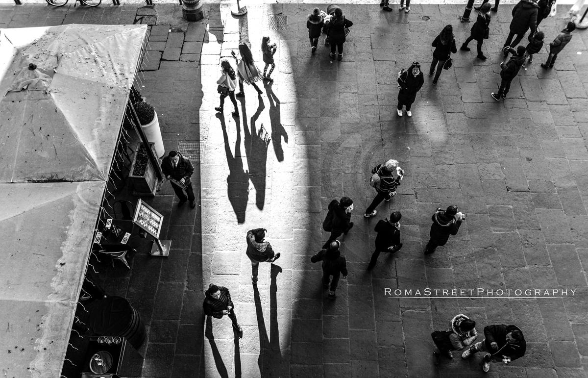 Luci e ombre del nuovo anno - Roma Street Photography