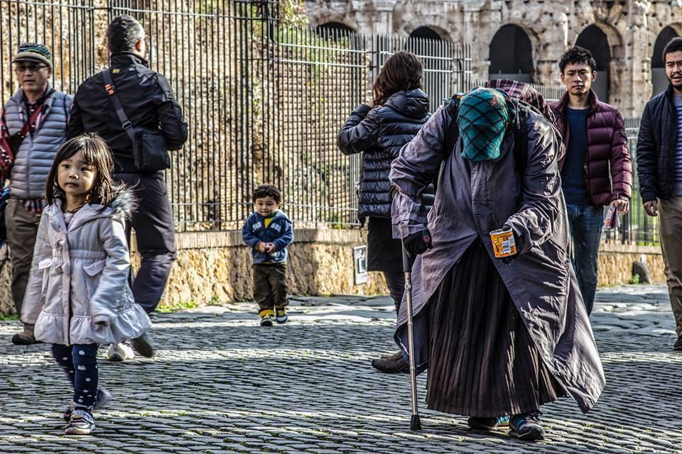 Fotografia di strada a Roma - Vita di Strada - Pic by Riccardo Zaccagnini