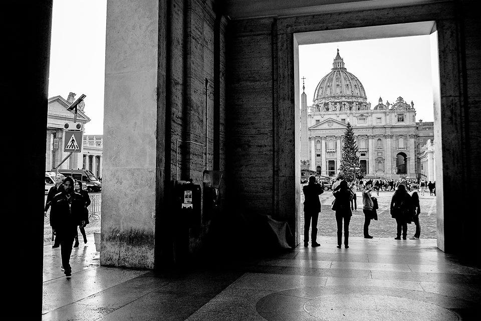 San Pietro in bianco e nero - © STEFANO MASSINI