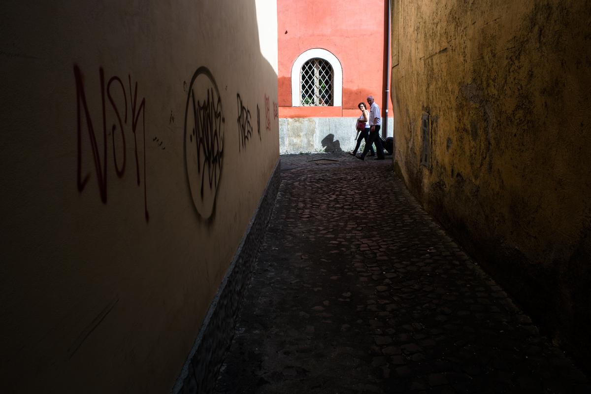 Il silenzio di Trastevere - Pic by Massimiliano Vecchi