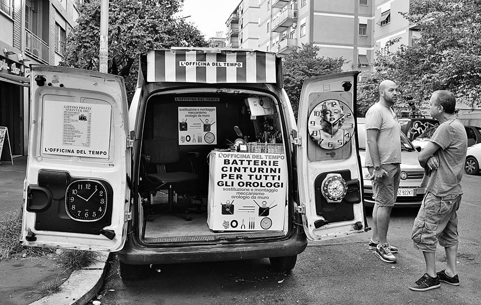 L'Officina del Tempo - Viale Marconi - © Ross Santoro