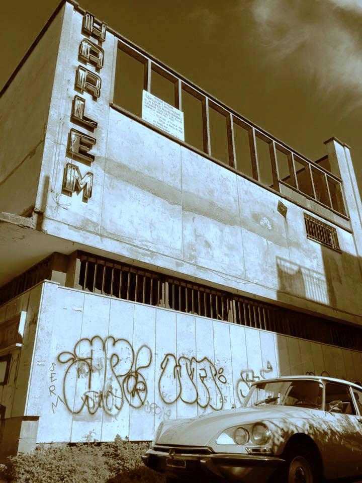 Renzo Di Pietro - ex cinema, Labaro - Roma Street Photography