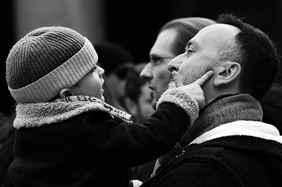 I love you dad! - Pantheon, © Ross Santoro