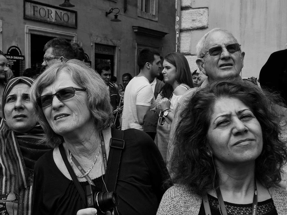 Le facce della domenica - Pic © Giuseppe Ardica - Roma Street Photography