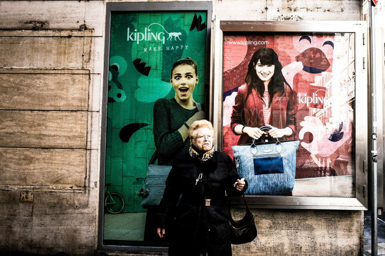 Grimaces - Roma Street Photography - © Maurizio Scacchi