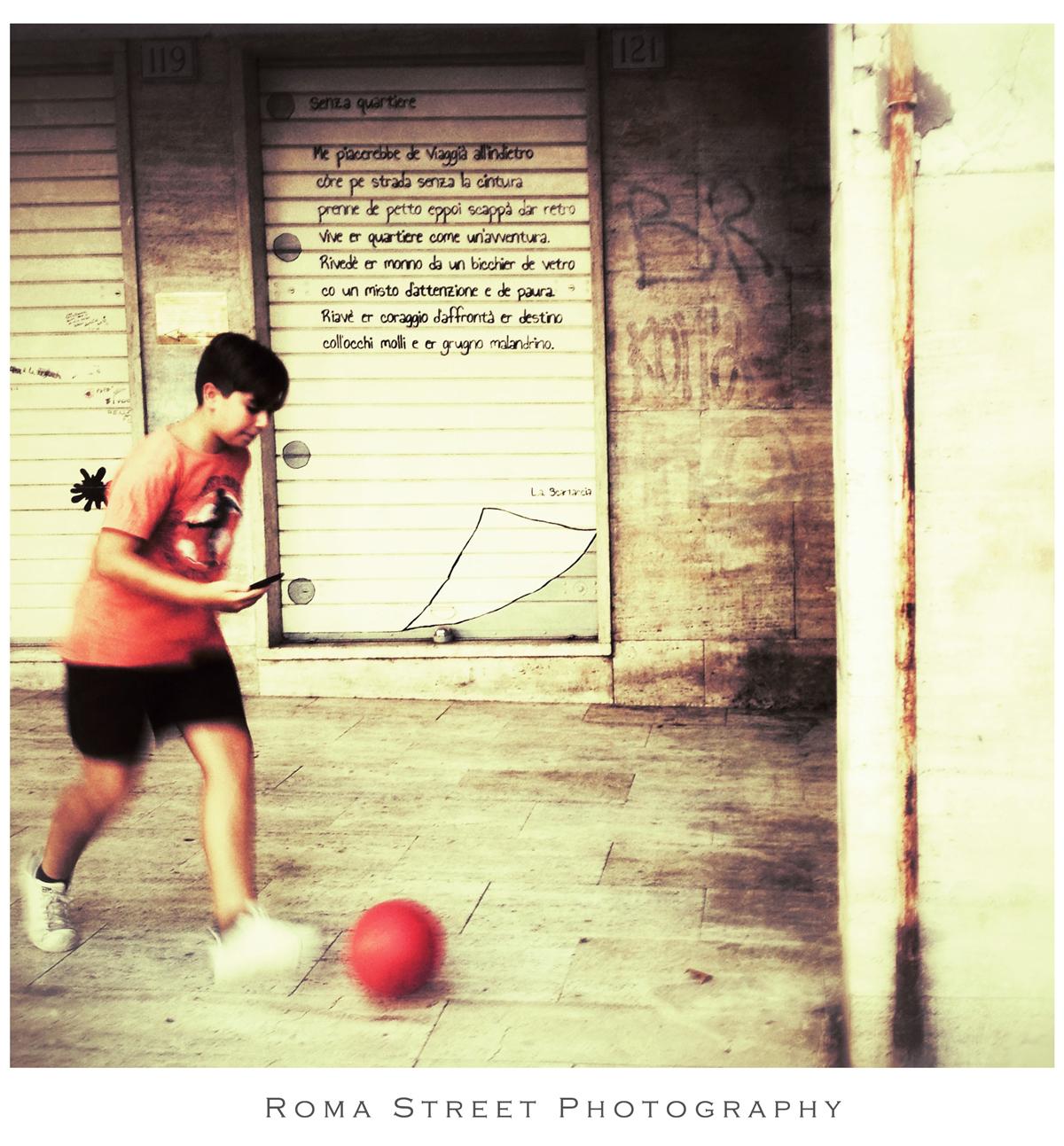 Senza Quartiere - diario di bordo - Roma Street Photography