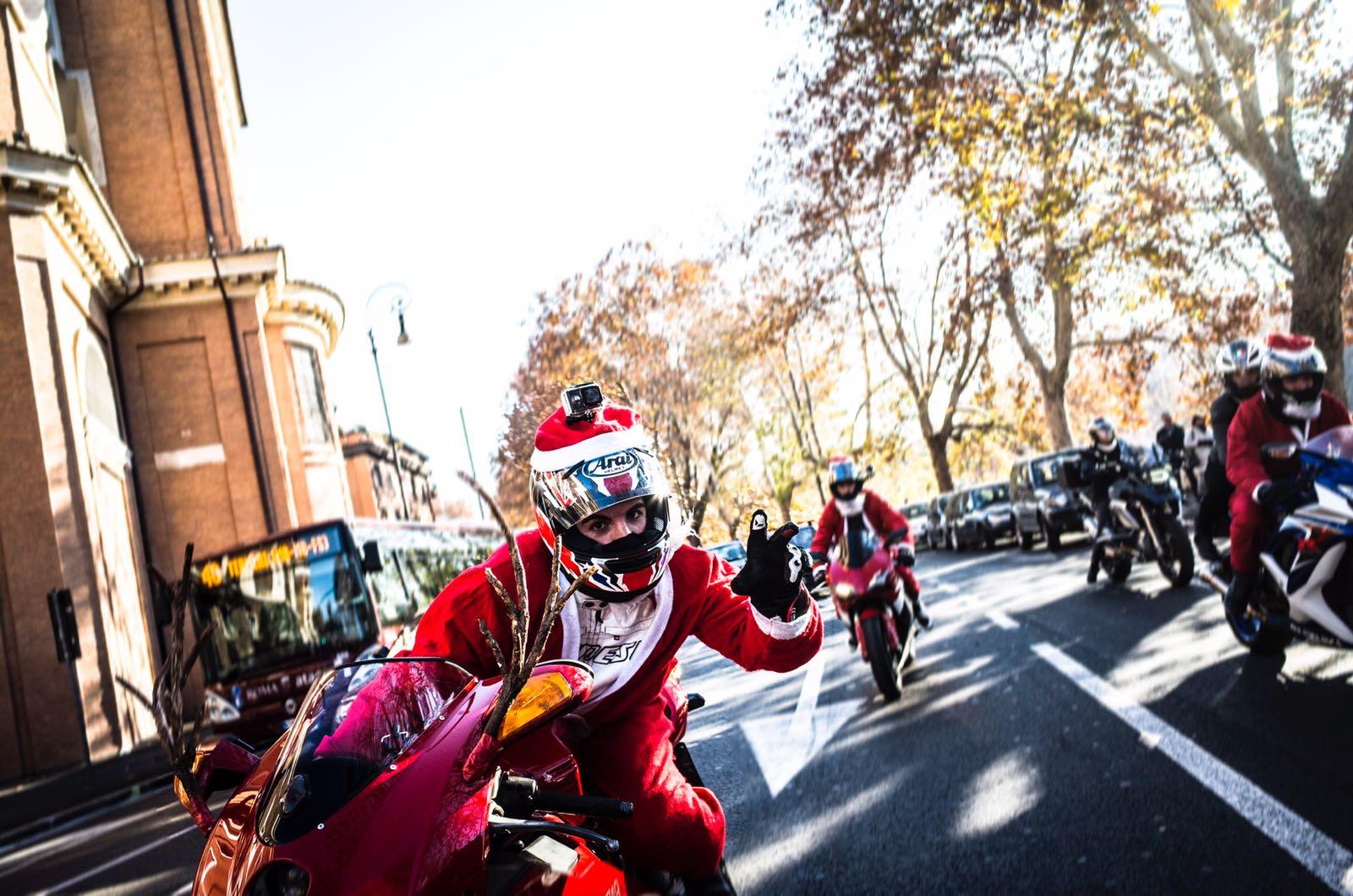 Buon natale per le strade di Roma - Roma Street Photography