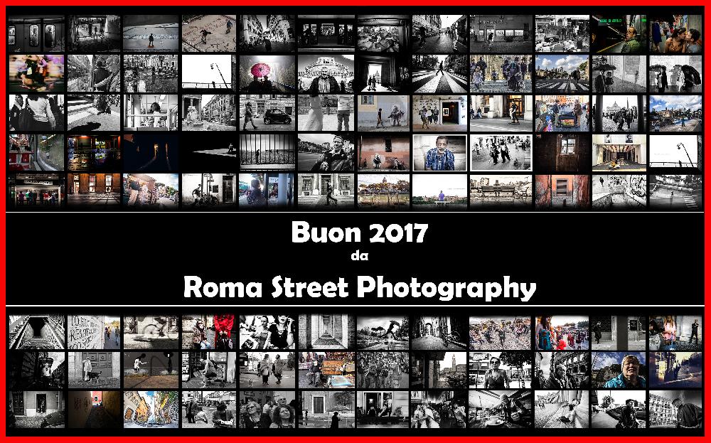 Buon 2017 da Roma Street Photography