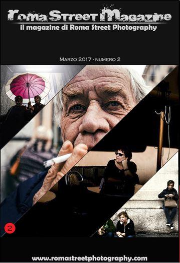 Roma Street Magazine copertina Marzo 2017