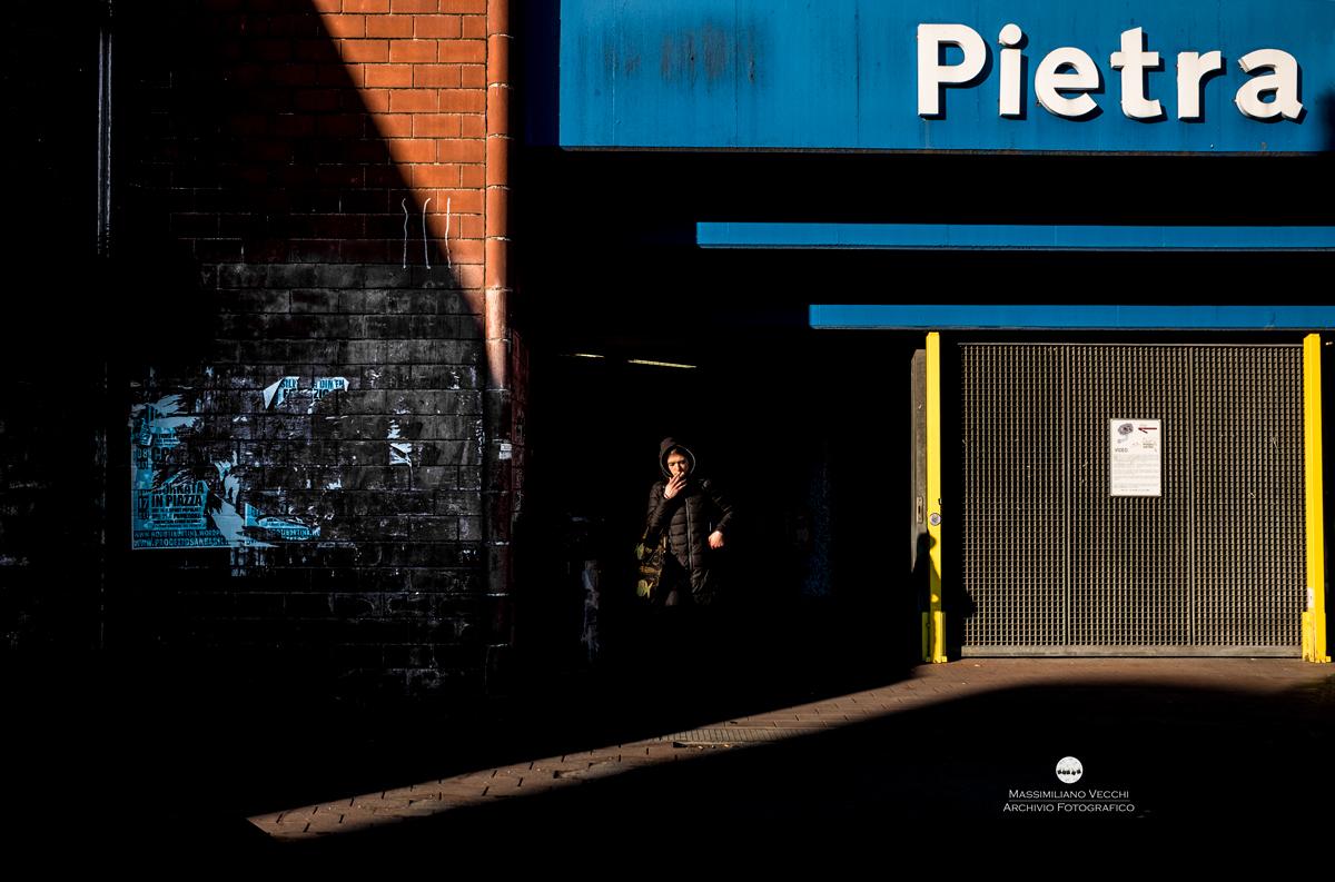 Pietra - Roma Street Photography - Pic by Massimiliano Vecchi